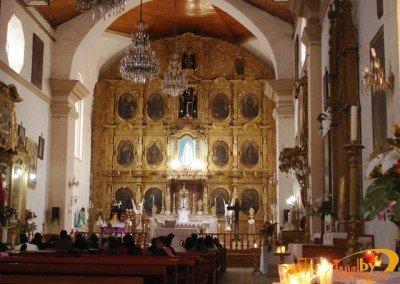 retablo iglesia San Francisco de Asis