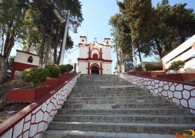 Iglesia el Cerrito en San Cristóbal