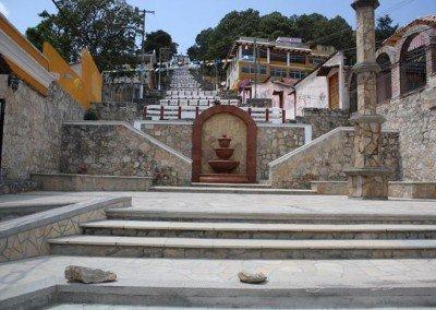 Subida a la Iglesia el Cerrito en San Cristóbal