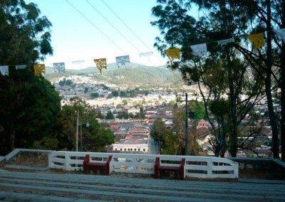 Vistas desde el Cerrito en San Cristóbal