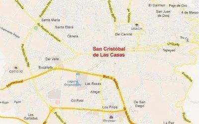 Mapas de San Cristóbal de las Casas