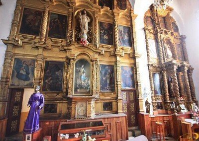 retablo en la Catedral de San Cristóbal