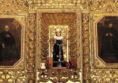 Retablo del templo de Santo Domingo