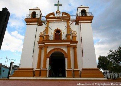 Iglesias en San Cristóbal; Fachada templo de Guadalupe