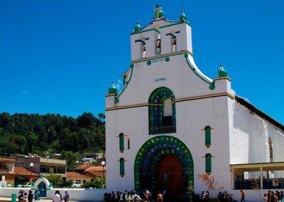 El templo de San Juan Chamula