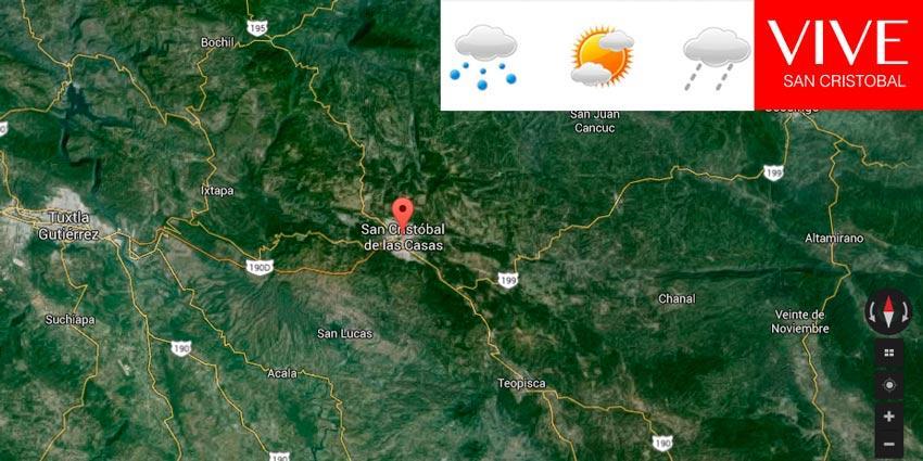 El clima en San Cristóbal de las Casas