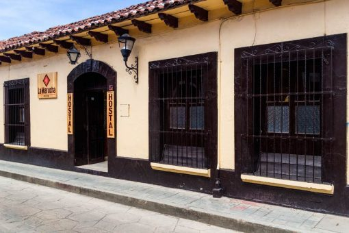 Hostal La Marucha - Fachada